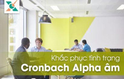 Khắc phục Cronbach Alpha bị âm trong SPSS