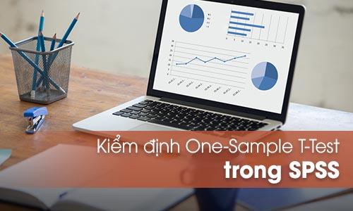 Kiểm định One – Sample T Test trên SPSS