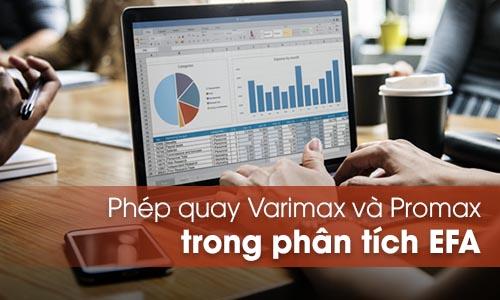 Phép quay varimax và promax