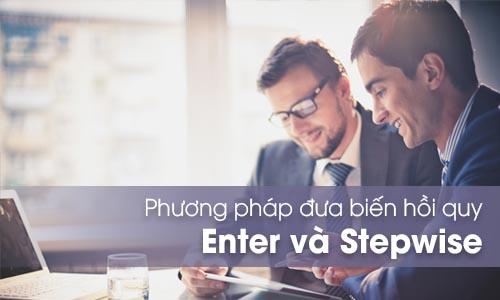 Phương pháp đưa biến hồi quy Enter và Stepwise
