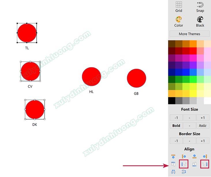 Cách vẽ mô hình đường dẫn trên SMARTPLS