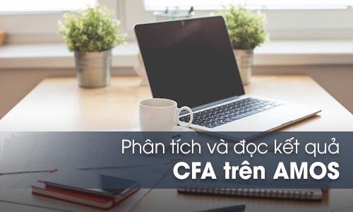 Phân tích nhân tố khẳng định CFA trong AMOS